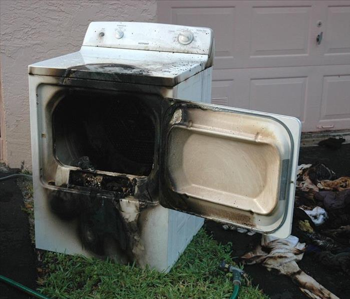 Fire Damage A clean clothes dryer reduces your chance of fire